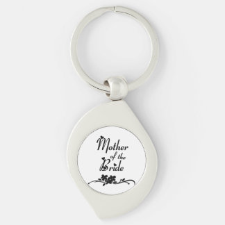 Classic Mother of the Bride Keychain