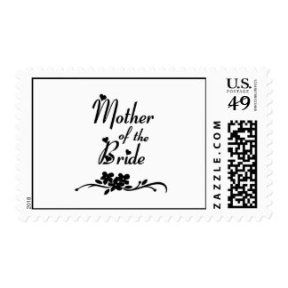 Classic Mother of the Bride Postage Stamp