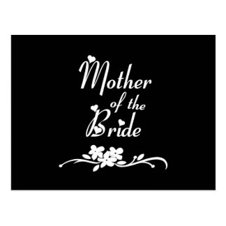 Classic Mother of the Bride Postcard