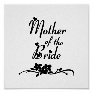 Classic Mother of the Bride Print