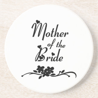 Classic Mother of the Bride Sandstone Coaster