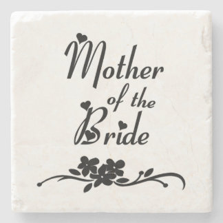 Classic Mother of the Bride Stone Coaster