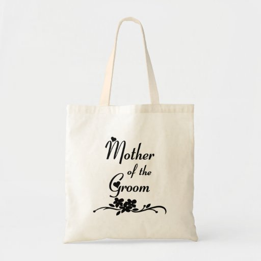 Classic Mother of the Groom Canvas Bag