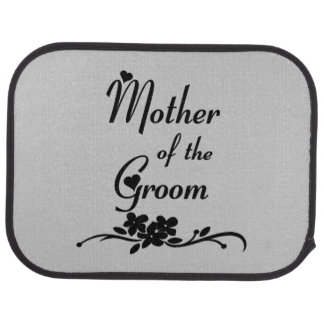 Classic Mother of the Groom Car Mat