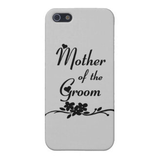 Classic Mother of the Groom iPhone 5 Case