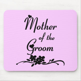 Classic Mother of the Groom Mousepads