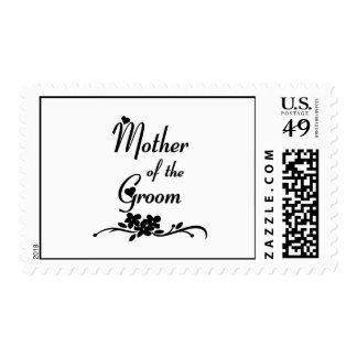 Classic Mother of the Groom Postage Stamp