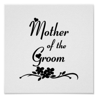 Classic Mother of the Groom Print