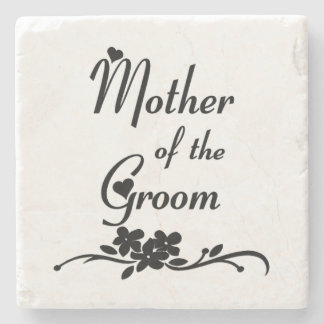 Classic Mother of the Groom Stone Coaster