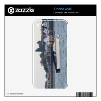 Classic Motor Boat Jane Decals For iPhone 4S