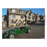 Classic Motor Car Stationery Note Card
