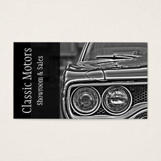 Classic Motor Cars Auto Sale Dealers Business Card