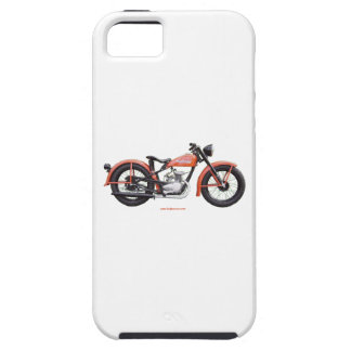 Classic Motorbike 125 HD_Texturized iPhone 5 Cases