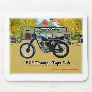 Classic Motorcycles 1969 Triumph Mousepad