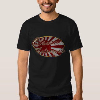 Classic Motorcycles Japanese Flag T-shirt