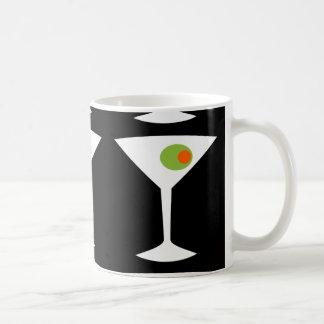 Classic Movie Martini Coffee Mug (Black)