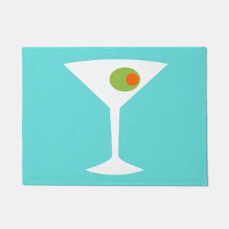 Classic Movie Martini Door Mat