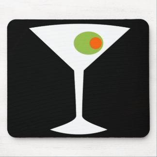 Classic Movie Martini Mousepad (black)