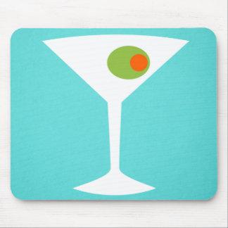 Classic Movie Martini Mousepad (turquoise)