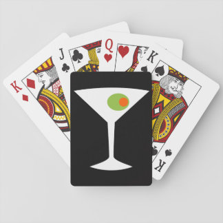 Classic Movie Martini Playing Cards