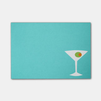 Classic Movie Martini Post It Notes