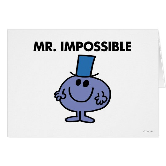 Classic Mr. Impossible Card