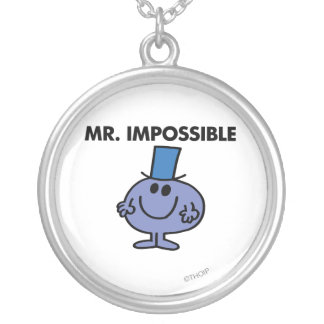 Classic Mr. Impossible Round Pendant Necklace