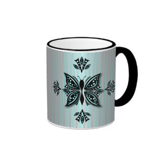 Classic Mug Butterfly Abstract