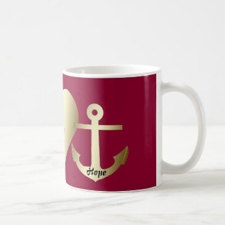 """Classic Mug - """"Faith, hope and love"""""""