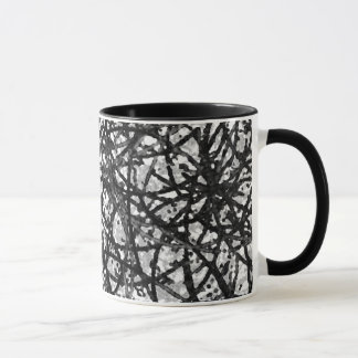Classic Mug Grunge Art Abstract