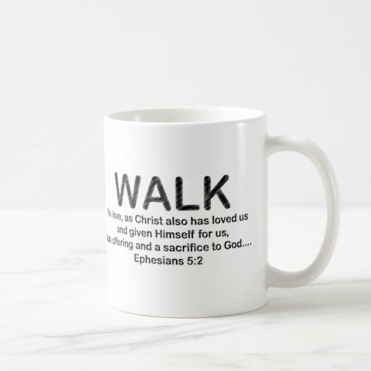 Classic Mug White Walk