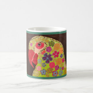 Classic Mug with Bright Parrot Design