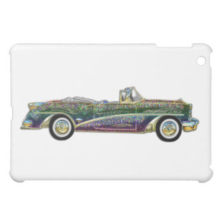 Classic Multicolor Convertible Car iPad Mini Case