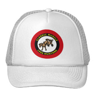CLASSIC MUSCLE - 1966 MUSTANG TRUCKER HAT
