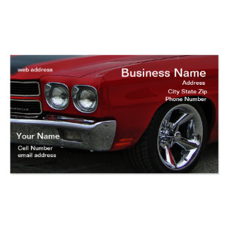 Classic Muscle Double-Sided Standard Business Cards (Pack Of 100)