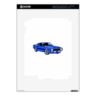Classic Muscle Car iPad 3 Decals