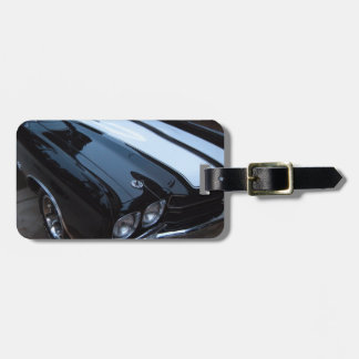 Classic Muscle Car Luggage Tag