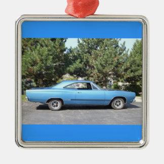 Classic Muscle Car Metal Ornament