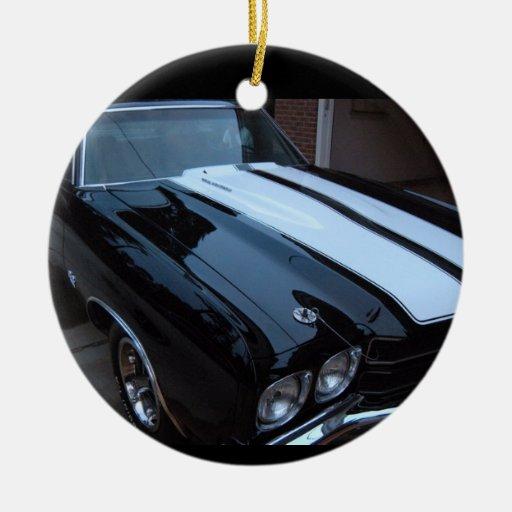 Classic Muscle Car Ornament