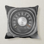 Classic Muscle Car Speedometer Pillow
