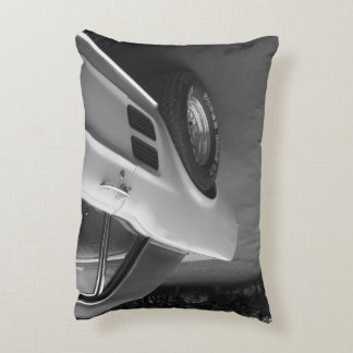Classic Muscle Car Throw Pillow - Coming and Going