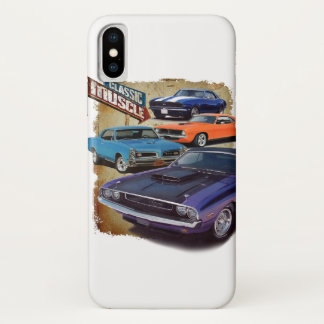 Classic Muscle Cars iPhone X Case