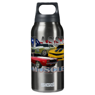 classic muscle insulated water bottle