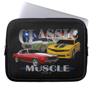 Classic Muscle Laptop Computer Sleeve