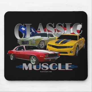 Classic Muscle Mouse Pad