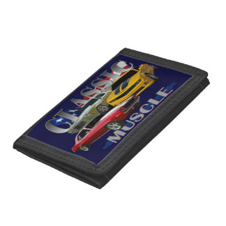 Classic Muscle Trifold Wallets