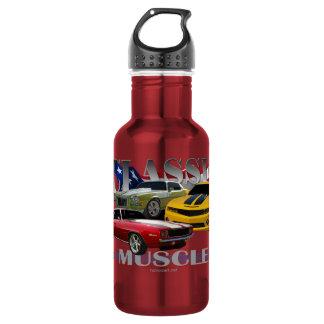 classic muscle water bottle