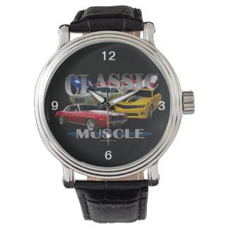 classic muscle wristwatch