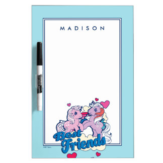 Classic My Little Ponies | Best Friends Dry-Erase Board