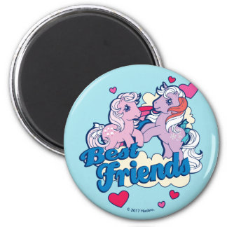 Classic My Little Ponies | Best Friends Magnet